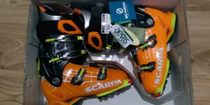 Scarpa Freedom RS orange-white